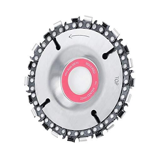 Amoladora de acero de disco de cadena de amoladora de 4