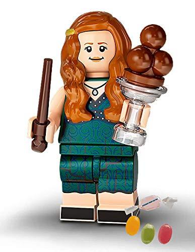 Serie 2 Lego® 71028 Harry Potter™ Minifiguren Figur 09 Ginny Weasley zusätzlich 1 x Sticker-und-co Fruchtmix Bonbon