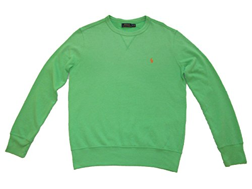 RALPH LAUREN Polo Herren Crewneck Pullover Shirt - Grün - Medium