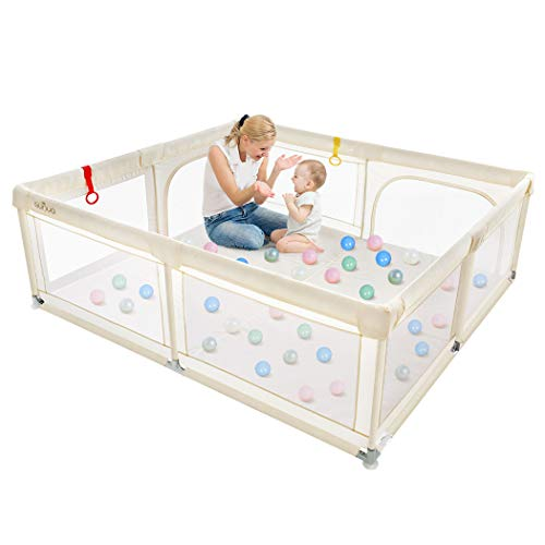 Baby Playpen, OUNUO Play Pens fo...