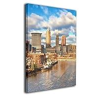 Skydoor J パネル ポスターフレーム 都市 インテリア アートフレーム 額 モダン 壁掛けポスタ アート 壁アート 壁掛け絵画 装飾画 かべ飾り 50×40