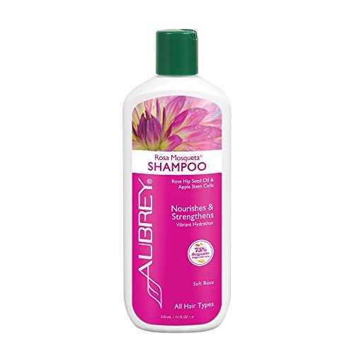 AUBREY Organics Rosa Mosqueta Rose Hip Kräuter Shampoo 8oz, 200 g