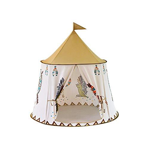 Tipi Zelt Für Kinder Kinder Spielen Zelt Für Indoor Outdoor, Indischen Stil Indoor-Spielzeug Kinderzelt Spielzimmer, Kinder Spielen Zelt Perfekt Für Jungen Oder Mädchen