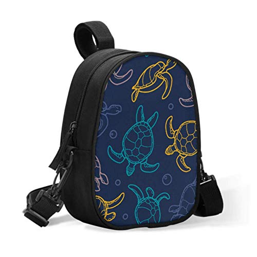 Baby Bottle for Bags Cute Cartoon Deep Ocean Sea Turtle Cute Insulated Lunch Bag Baby Bottle Keep Warm Bag Easily Attaches to Stroller for Travel Baby Bottle Warmer Or Cool