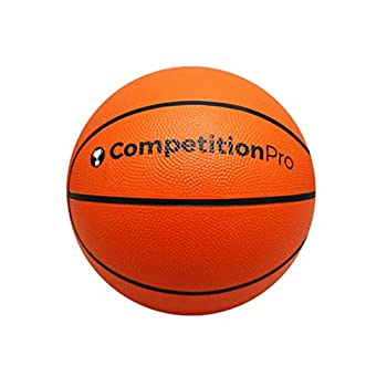RetroArcade.us ra-r-bball-cpjr27 Arcade Basketball Competition pro Junior Size Rubber Basketball - 8.5 inch ice Hoop Fever