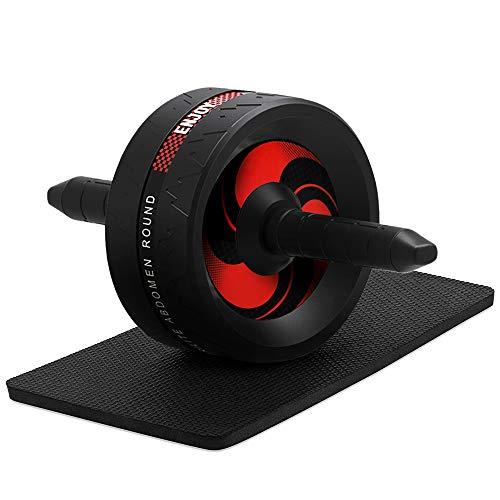 wesho Ab Roller für Abs Fitnessgeräte -Ab Roller Wheel Trainingsgeräte Ab Wheel Roller für Heimgym Heim Fitnessgeräte für Männer Frauen Abdominal Exercise Fitnessgeräte Bauchroller