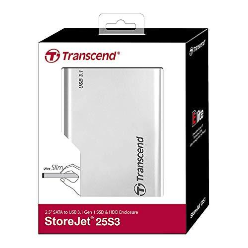 Transcend 2.5-inch Portable HDD Enclosure Casing