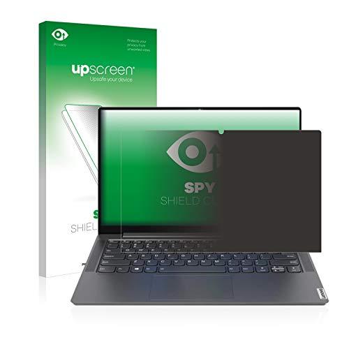 upscreen Anti-Spy Blickschutzfolie kompatibel mit Lenovo Yoga S740 14'' Privacy Screen Sichtschutz Bildschirmschutz-Folie