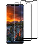DASFOND Huawei Mate 20 Pro Screen Protector, [2 Pack] Shatterproof Tempered Glass Film for Huawei Mate 20 Pro [9H Hardness] [Touch sensitive] [High Transparency]