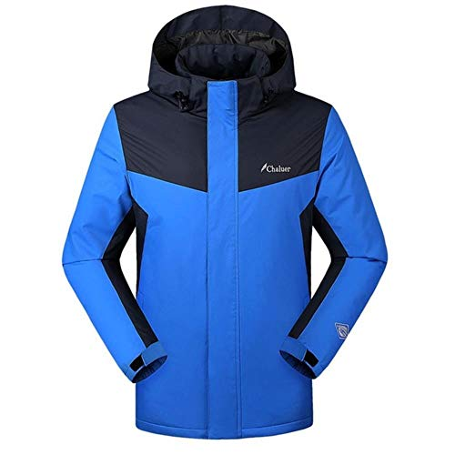ERFHJ Trenchcoat Heren Style Smart Heating Warm Down Charge Jacket Coat