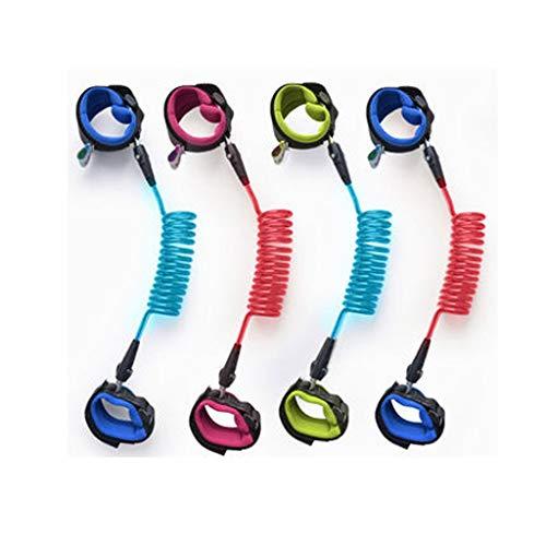 LLKK Cuerda de tracción,Cinturón antipérdida para niños,antipérdida y antisecuestro para bebés,artefacto para bebés,Color Aleatorio,una Pieza