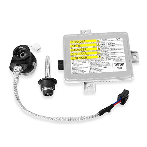 X6T02971 Xenon HID Headlight Ballast Unit Assembly Module with Igniter and D2S Bulb Compatible with...