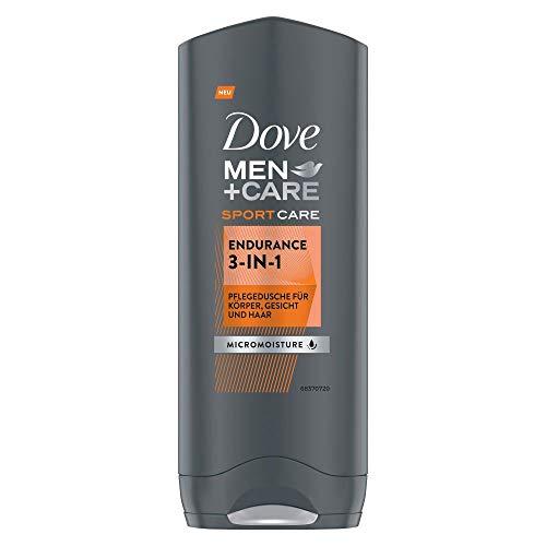 Dove Men+Care Duschgel 3-in-1 Endurance Sport Care Pflegedusche für trockene Haut, 250 ml
