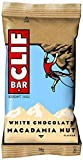 Clif Bar Energy Bar White Choc Macadamia 68 g (Pack of 12)
