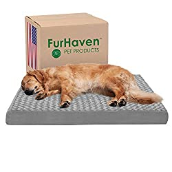 Furhaven Pet Dog Bed | Mattress Pet Bed for Dogs & Cats