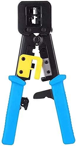 Kit de herramientas para el hogar, herramientas ma Herramientas Herramientas de bricolaje en casa Conjunto alicates arrugador RJ45 for cables Cat 5e Cat 6 RJ45 herramientas de hardware juego de herram