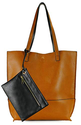 Scarleton Trendy Reversible Tote Handbag for Women, Shoulder Bag,Purses for Women, Hobo bag, Satchel Purse, H2018