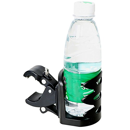 PLASTIC Water Bottle Holder Treadmill Elliptical Bike Cup Bracket Attachment