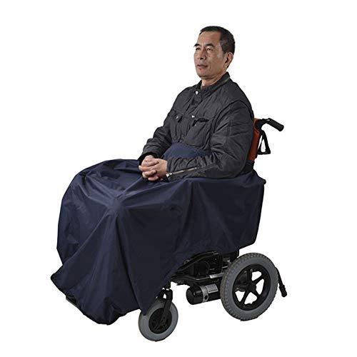 Cushion Invierno Cálido Manta a Prueba De Viento para Silla De Ruedas, Manta Siamés para Ancianos Discapacitados, Funda para Silla De Ruedas, Bolsa Caliente para Piernas Y Pies