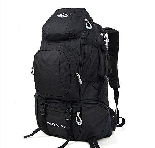 Voyage sacs à dos sac à dos de sports de plein air 38 L randonnée , black