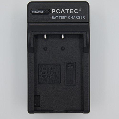 【PCATEC】 OLYMPUS BLS-1/BLS-5 FUJIFILM NP-140 対応☆互換充電器☆E-410/ E-400/ E-420/ E-620/ E-PL1/ E-P1/ E-P2/E-P3/ E-PL3/ E-PM1/ E-PL1s/ E-PL2/ E-PL5/ E-PM2/ E-PL6
