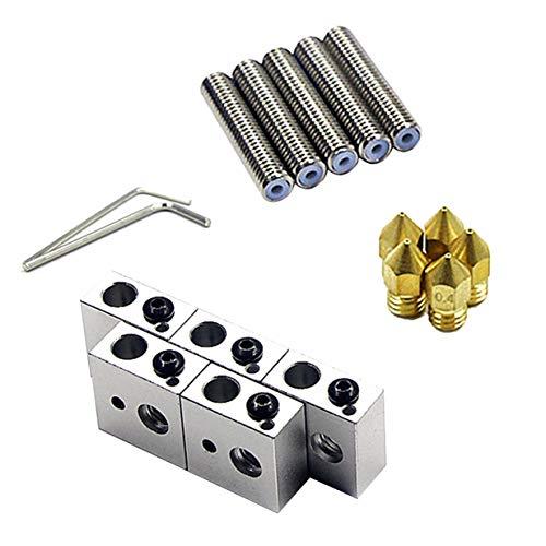 Tubo garganta 15 piezas/juego 1.75 mm + Cabezales
