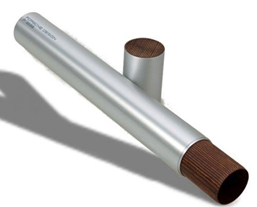 Porsche Design Aluminium Panzerholz Single Tube Silver