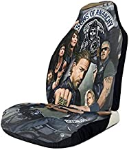 SKEGVINRE Sons of Anarchy Car Seat Cover Automotive Vehicle Cushion Cover for SUV Cars Pickup Truck Universal Fit Set for Auto Interior Accessories 1 PCS