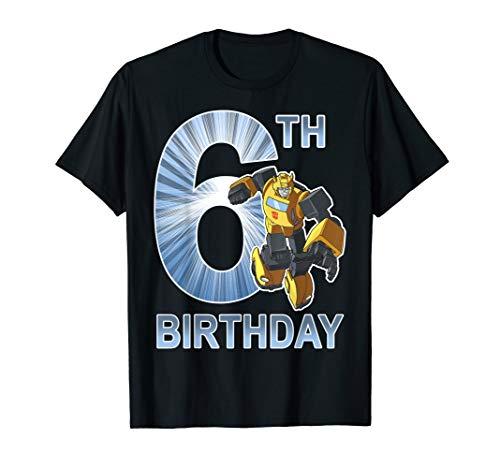 Transformers Bumblebee 6th Birthday T-Shirt