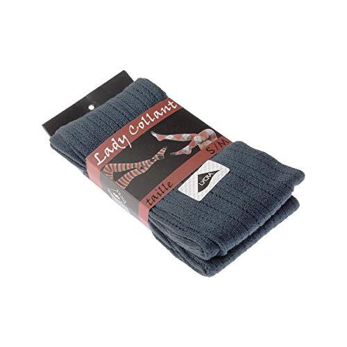 Warme panty's, 1 paar, met gaten, zeer ondoorzichtig, mat, inzetstuk van polyamide, katoen