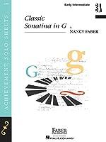 Classic Sonatina in G Level 3a: Early Intermediate
