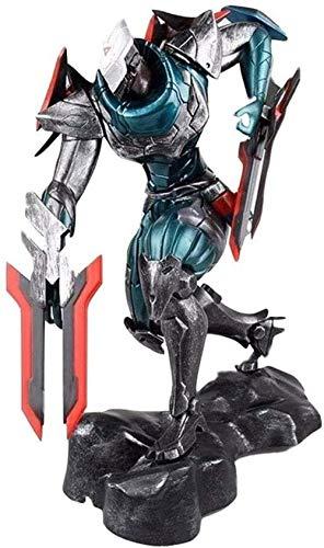 YIGEYI League of Legends The Master of Project Shadows Zeta 9 Figura de acción 8 Pulgadas PVC Figuras coleccionables Modelo de Personaje Estatua Juguetes