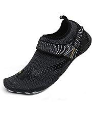 ChayChax Escarpines Zapatos de Agua Hombre Mujer Zapatos de Playa Piscina para Surf Vela Mar Río Aqua Cycling Deportes Acuáticos Natación Aire Libre