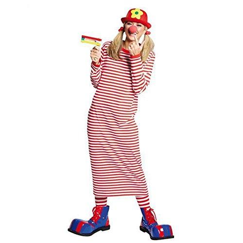 Generique - Schlaf - T-Shirt Lange Ärmel gestreift Clown XL