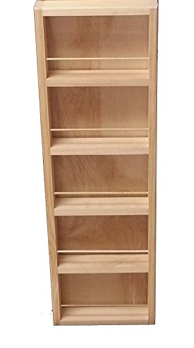 """Wood Cabinets Direct 34"""" Fulton - on The Wall Spice Rack - 11W - 3.5"""" Deep"""
