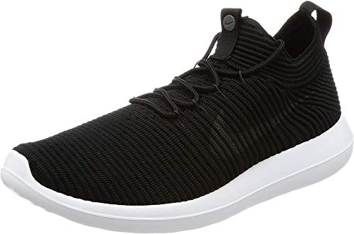 Nike Men's Roshe Two Flyknit V2 Trainers, Black (Black/Black/White/Anthracite), 6 UK 40 EU