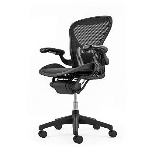 Herman Miller Aeron Chair Classic | alle Funktionen & PostureFit (B, Kunststoff)