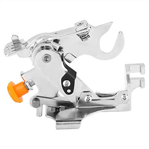 Wilecolly Máquina Herramienta de Coser Multifuncional, Accesorio de pie prensatelas de Ruffler para el hogar, Accesorios para máquinas de Coser de Mango bajo(2)