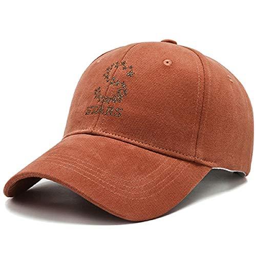 Herren Kappe Cap S Stickerei Snapback Cap Classic Schwarz Off White Promi-Hut Frauen Baseball Cap Summer Shade Caps Männer Caps-Brown