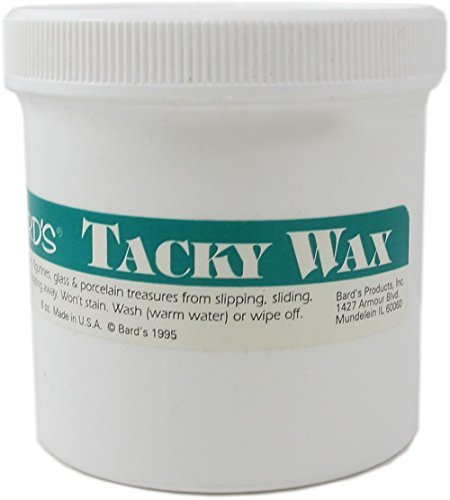 Tacky Wax Keeps Collectibles Safe and Secure - 6 Oz. Tub