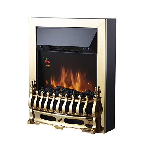 Warmlite Whitby 2kW LED Electric Fire Inset with Remote Control