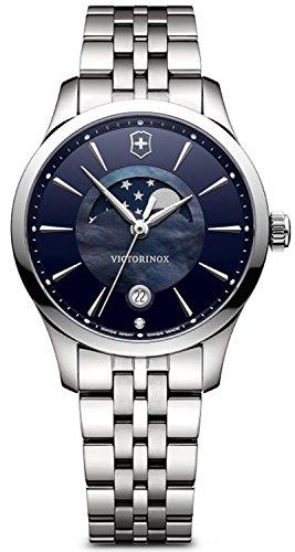 Victorinox Alliance Reloj para Mujer Analógico de Cuarzo Suizo con Brazalete de Acero Inoxidable V241752