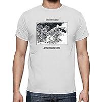 latostadora - Camiseta October Equus Permafrost para Hombre Blanco S