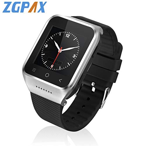 ZGPAX S8 Bluetooth Smart Uhr Android 4.4 MTK6572 Dual Core GPS 3.0MP Kamera WCDMA Wifi MP3 MP4 Smartwatch Telefon