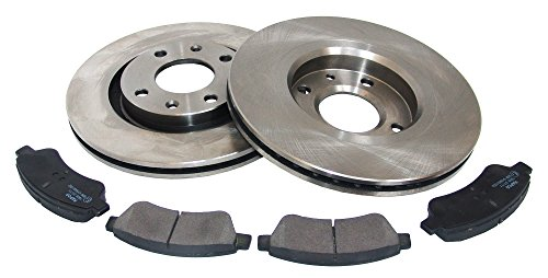 Mapco 47455  Brake Kit- Kit de discos de freno