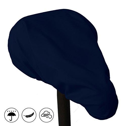 MadeForRain Robuster, zuverlässiger und wasserdichter Sattelbezug CityHopper Basic (Nachtblau)