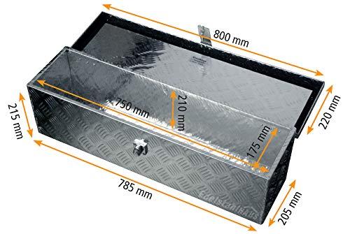 Truckbox D035 + MON2012 Montagesatz, Werkzeugkasten mit Montagesatz, Deichselbox, Transportbox - 3