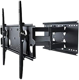 TradeMount Soporte de Pared para Monitor de Dos Brazos Extensible de 7,3cm a 43cm orientable inclinable 12° para Sony 65