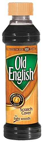 Old English Scratch Cover for Light Woods, 8 Fl Oz.