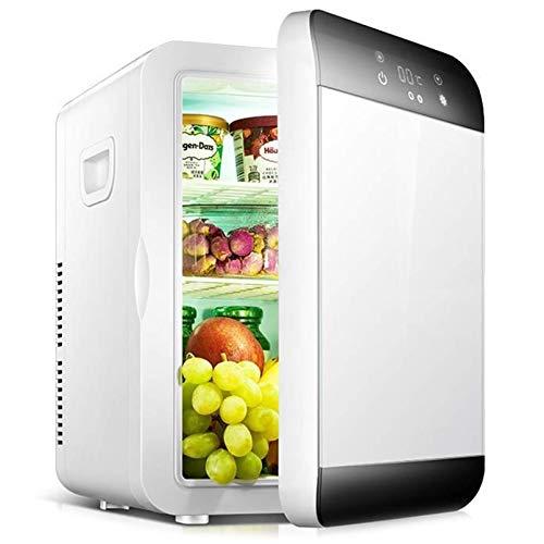 QTCD Kühlschrank Kühlschrank Gefrierschrank Glaciere 12L Mini Autokühlschrank 12V Autokühlschrank Kühlbox Dual Use Hot/Cold Tragbare IceBox Kleine Gefriertruhe, Camping, Wohnwagen, The